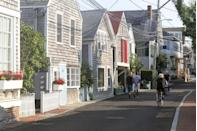 <p>It's not just natural beauty on the Cape. Main streets like Commercial in Provincetown are as picturesque as the nearby ocean views.</p>