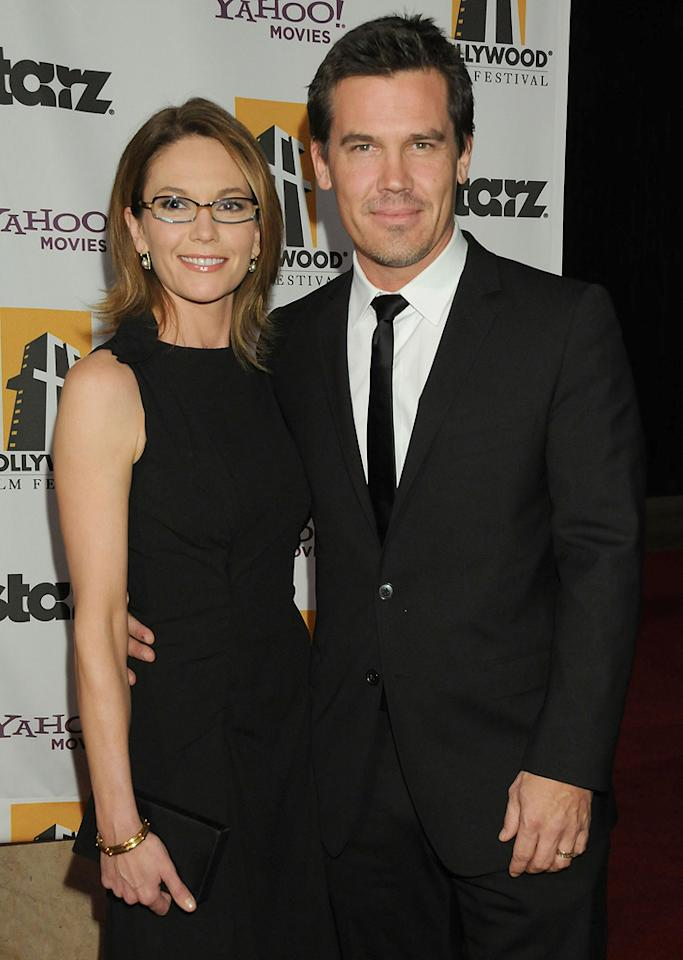 """<a href=""""http://movies.yahoo.com/movie/contributor/1800020036"""">Diane Lane</a> and <a href=""""http://movies.yahoo.com/movie/contributor/1800019611"""">Josh Brolin</a> at the 12th Annual Hollywood Film Festival Awards Gala in Beverly Hills - 10/27/2008"""