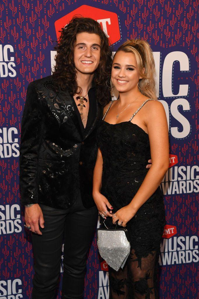 """<p>While competing on season 16 of <em>American Idol</em>, singers Gabby Barrett and Cade Foehner were also falling in love. Neither of them won the competition, but both have rising careers in country music. The couple got married in October 2019, shortly after their 2018 stint on the show, and are <a href=""""https://people.com/parents/gabby-barrett-pregnant-expecting-daughter-cade-foehner-exclusive/"""" rel=""""nofollow noopener"""" target=""""_blank"""" data-ylk=""""slk:expecting a daughter in 2021"""" class=""""link rapid-noclick-resp"""">expecting a daughter in 2021</a>. </p>"""