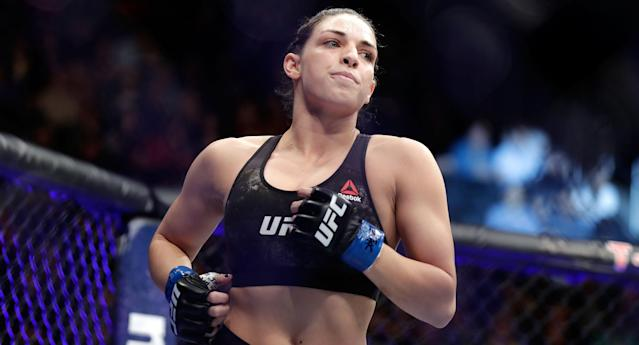 Mackenzie Dern (6-0) was flattered by early comparisons to Ronda Rousey, but believes she can take things to the next level. (Getty Images)