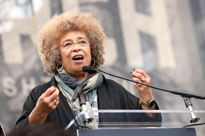 Angela Davis gave the most powerful Women's March speech, and you should listen to every word