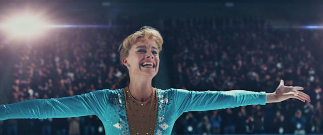 """Margot Robbiecouldn't muster enough buzz tobecome a first-ratecandidate for her breakthrough turn in """"The Wolf of Wall Street."""" The intervening years haven't inched her closer to that prestige, even as her star rises. And then along came """"I, Tonya."""" Robbie plays Tonya Harding with agusto so fiery you'll hardly recognize her.The role has already earnedher a shout-out from the <span>Gotham Awards</span>, always the first nominations out the gate. Two hiccups: The darkly comedic biopic provedsomewhat divisive at its Toronto Film Festival premiere, and it's the firstmovie that the new indie distributor Neon has framed for awards esteem. Butplaying someone as fascinating as Harding should aid Robbie's odds, especially if thefilm finds a wide audience when it hits theaters next month."""