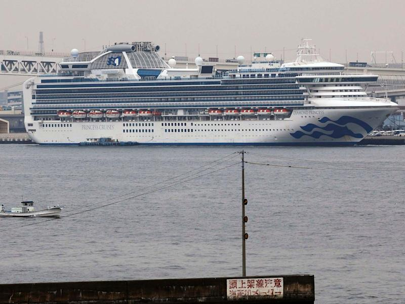 The CEO of the world's biggest cruise company, and owner of the troubled Diamond Princess ship, said cruises will be back once the coronavirus pandemic ends: AP