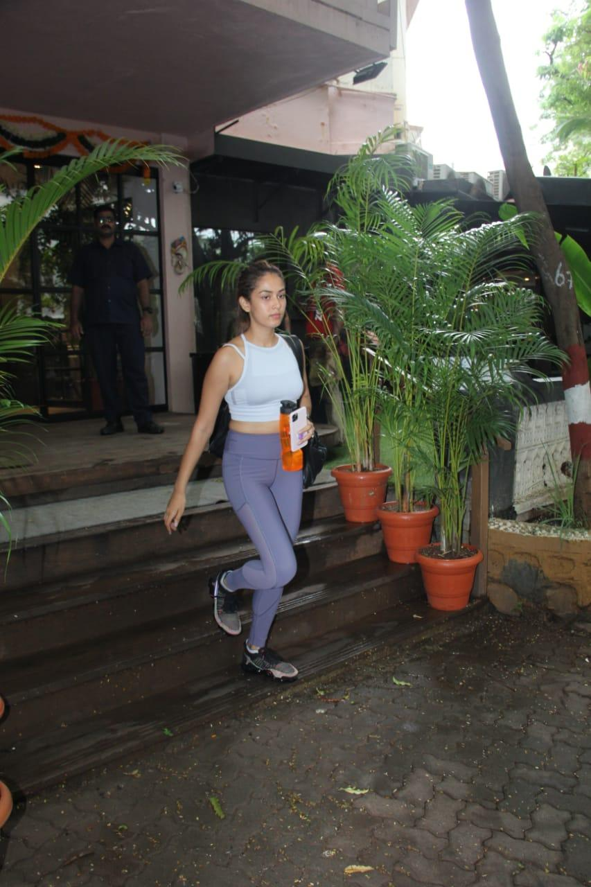 Mira Kapoor spotted at Phil hill gym
