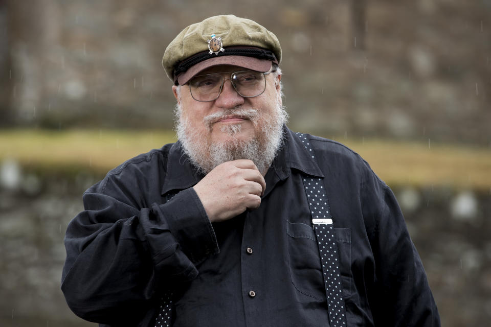 George R. R. Martin is involved in the play's development. (Photo by Liam McBurney/PA Images via Getty Images)