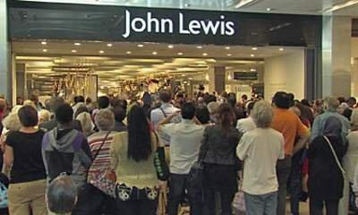John Lewis Strikes Gold With Olympic Sales