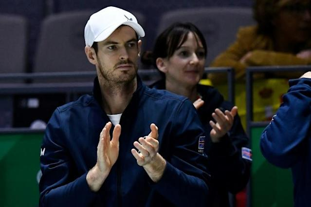 Three-time Grand Slam champion Andy Murray breaks down when broaching the subject of the 1996 Dunblane School massacre which is a topic he rarely addresses (AFP Photo/OSCAR DEL POZO)