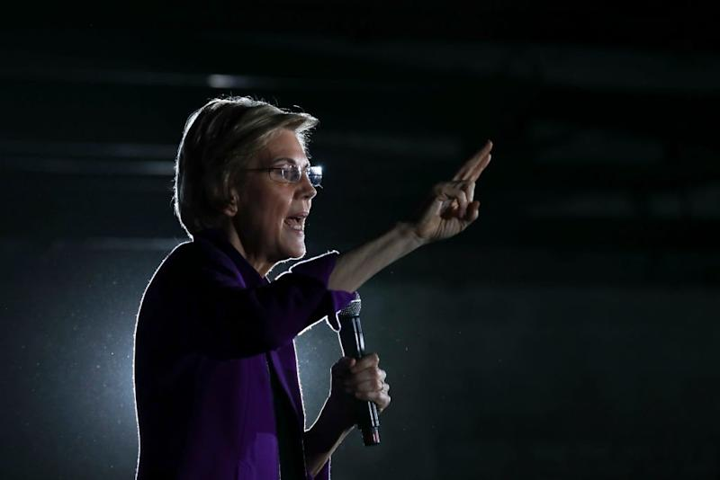 Elizabeth Warren Targets Facebook's Ad Policy With a Fake Ad Claiming Mark Zuckerberg Endorsed Trump's Re-Election