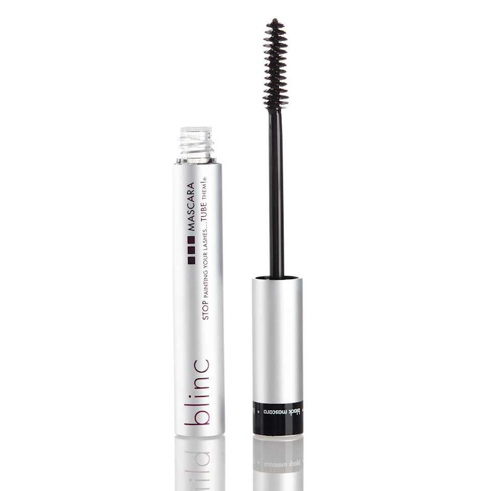 """<p>Blinc's Mascara is the <a href=""""https://www.allure.com/review/blinc-kiss-me-mascara?mbid=synd_yahoo_rss"""" rel=""""nofollow noopener"""" target=""""_blank"""" data-ylk=""""slk:original tubing mascara"""" class=""""link rapid-noclick-resp"""">original tubing mascara</a> that started the trend; it has since branched out into six different colors (like burgundy and <a href=""""https://www.allure.com/gallery/best-blue-mascara?mbid=synd_yahoo_rss"""" rel=""""nofollow noopener"""" target=""""_blank"""" data-ylk=""""slk:navy"""" class=""""link rapid-noclick-resp"""">navy</a>). It features a soft, curved brush and formula that imparts a lengthening """"your-lashes-but-better"""" look. It doesn't budge, flake, or smudge throughout the day, and it's even tear-proof. One caveat: You only have about 60 to 90 seconds to apply this stuff before it dries down and becomes un-buildable, so it's not ideal for topping up during the day. That said, it's super simple to start fresh (just add gentle pressure and warm water to remove).</p> <p><strong>$26</strong> (<a href=""""https://shop-links.co/1719020118480623634"""" rel=""""nofollow noopener"""" target=""""_blank"""" data-ylk=""""slk:Shop Now"""" class=""""link rapid-noclick-resp"""">Shop Now</a>)</p>"""