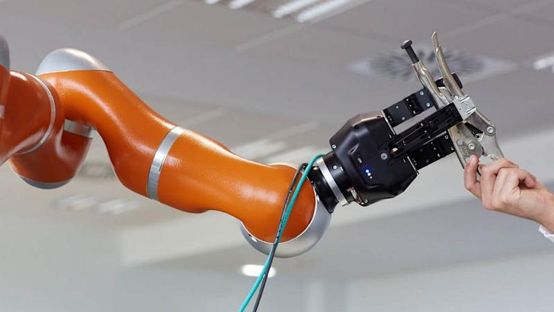 Interactions between people and machines continue to increase. Image credit: Tecnalia/Flickr, CC BY-NC-ND