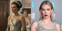 <p>Vanessa Kirby dyed her hair brown to play Queen Elizabeth's younger sister, Princess Margaret, for the first two seasons of <em>The Crown</em>. </p>