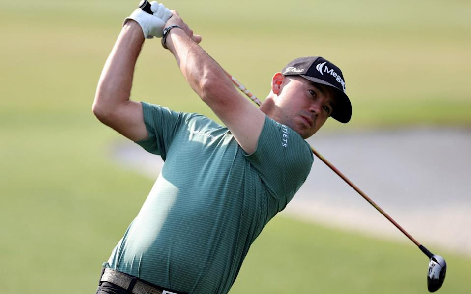 Brian Harman co-leads in the clubhouse with Matsuyama - SHUTTERSTOCK