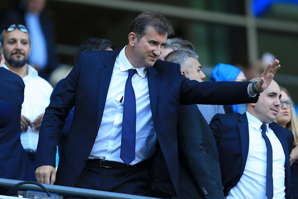 Manchester City CEO Ferran Soriano hinted at what really matters to the club in statements on the team website. (Photo by Simon Stacpoole/Offside/Offside via Getty Images)
