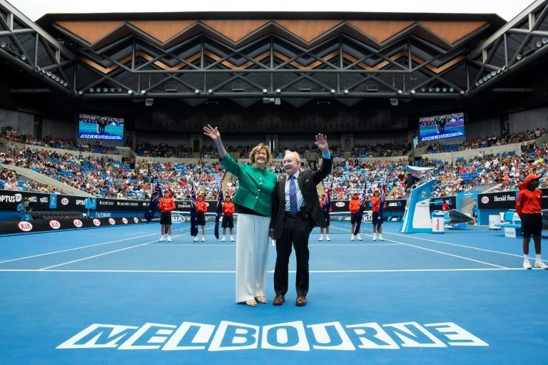 Margaret Court and Rod Laver are Australia's two greatest tennis champions (AFP Photo/FIONA HAMILTON)