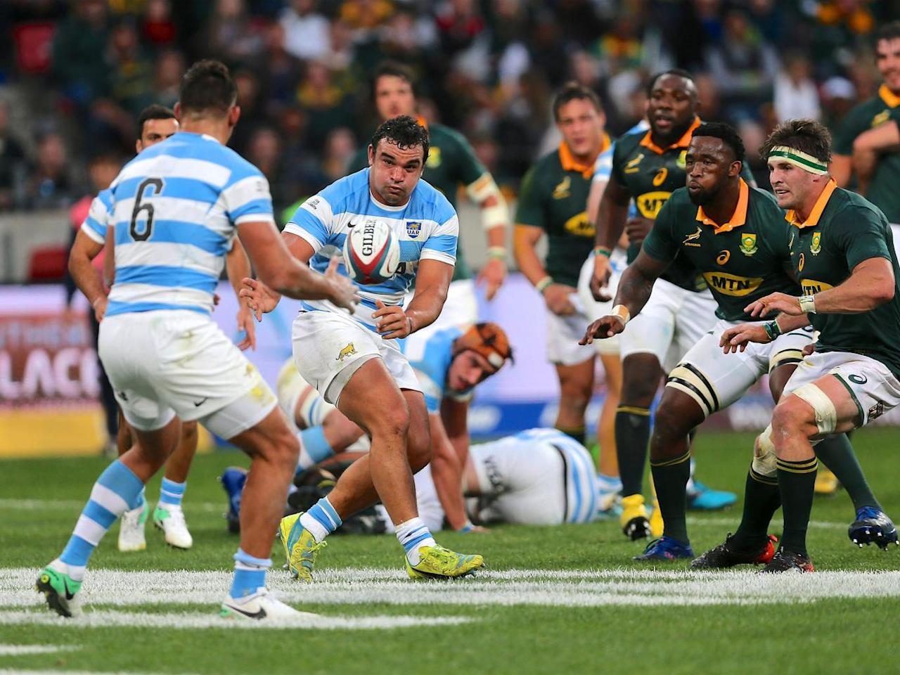 South Africa power past the Pumas in Rugby Championship opener