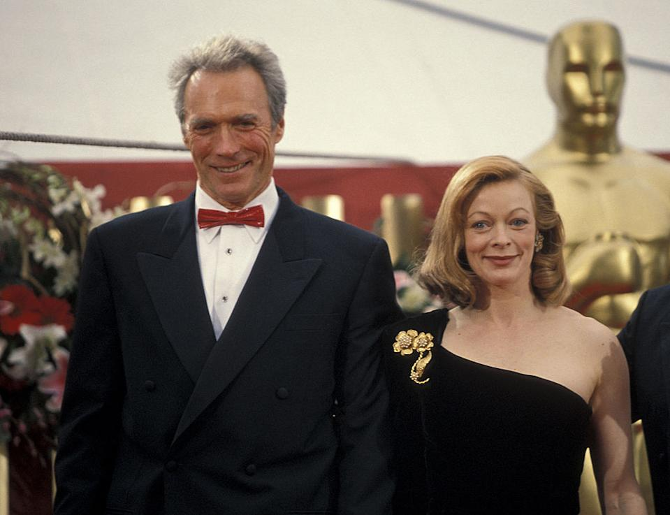 The pair dated for around six years in the 1990s and had a daughter together. Here they are at the 65th annual awards. <em>[Photo: Getty]</em>