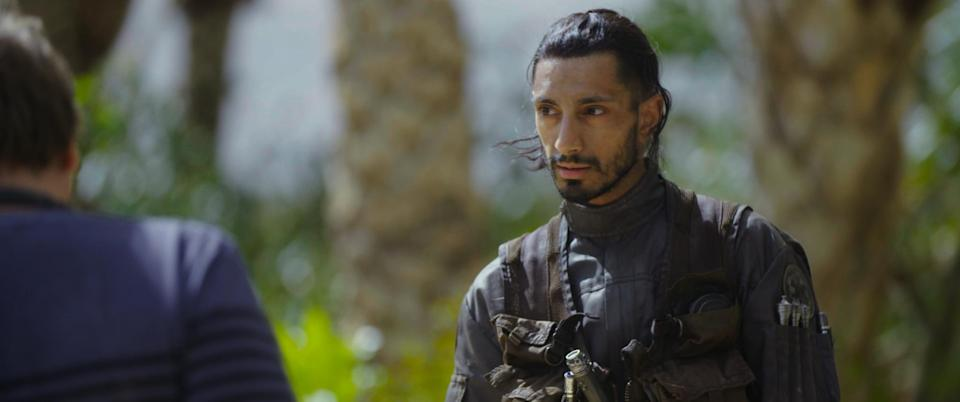 Rogue One: A Star Wars Story..Riz Ahmed (Bodhi Rook)Behind the Scenes on set during production. ..Ph: Footage Frame..© 2016 Lucasfilm Ltd. All Rights Reserved.