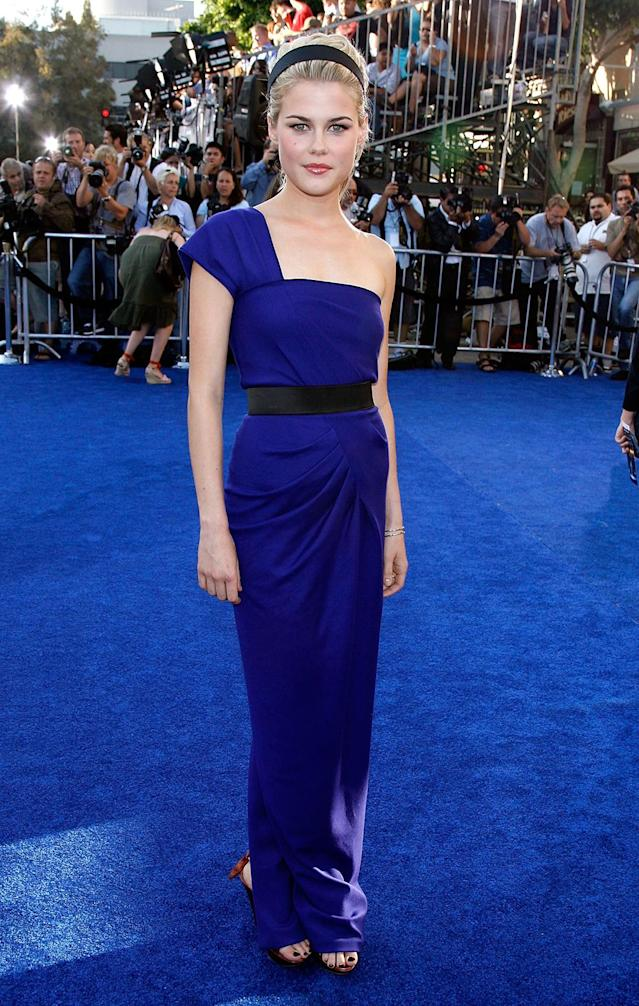 <p>The Australian actress appears as a signals analyst in the first film. (Photo: Kevin Winter/Getty Images) </p>