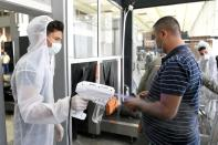 FILE PHOTO: Damascus airport reopens after months of closure