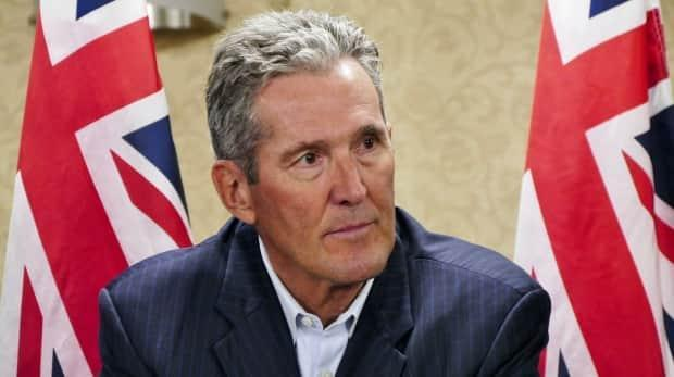 Pallister suggested a possible cross-border vaccination site for teachers could be near the Emerson, Man., border crossing.