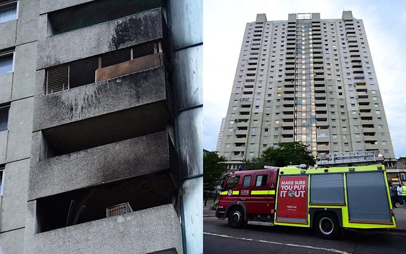 London Fire Brigade now have the fire under control - David Mirzoeff/PA