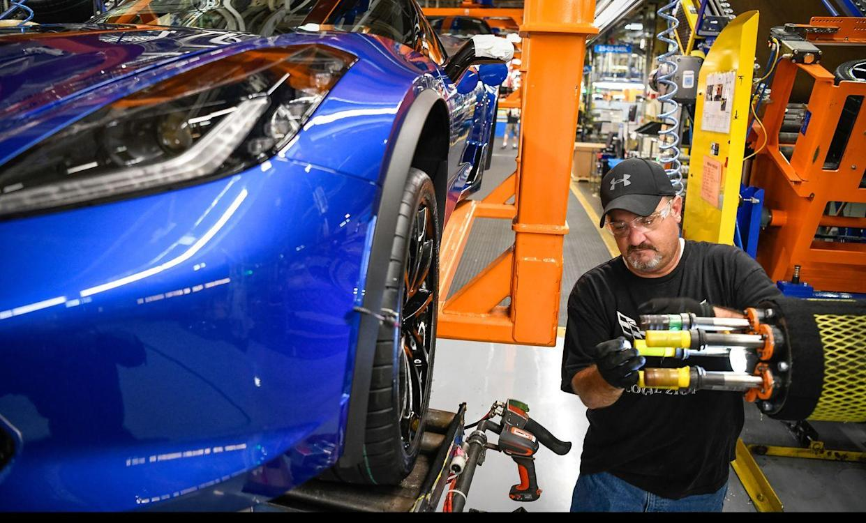 UAW Strike to Delay Chevy Corvette C8 Production - The Reports