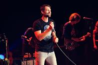 """<p>Making good on a four-year promise, Ryan Hurd took the stage with a smile that never left his face for his hit """"To a T.""""</p>"""