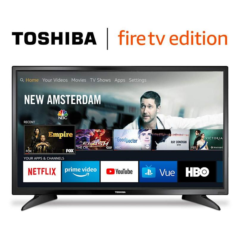 This TV comes with a built-in Fire TV streaming device. (Photo: Amazon)