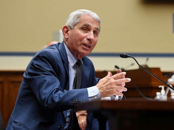 PHOTO: Dr. Anthony Fauci, director of the National Institute for Allergy and Infectious Diseases, testifies on the coronavirus crisis in Washington, D.C., July 31, 2020. (Kevin Dietsch/Pool via Reuters, FILE)