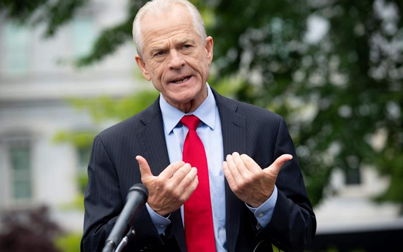 White House Trade Advisor Peter Navarro said WeChat will face 'strong action' - AFP