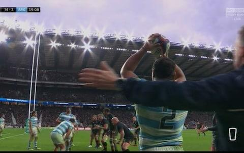 lineout - Credit: SKY SPORTS
