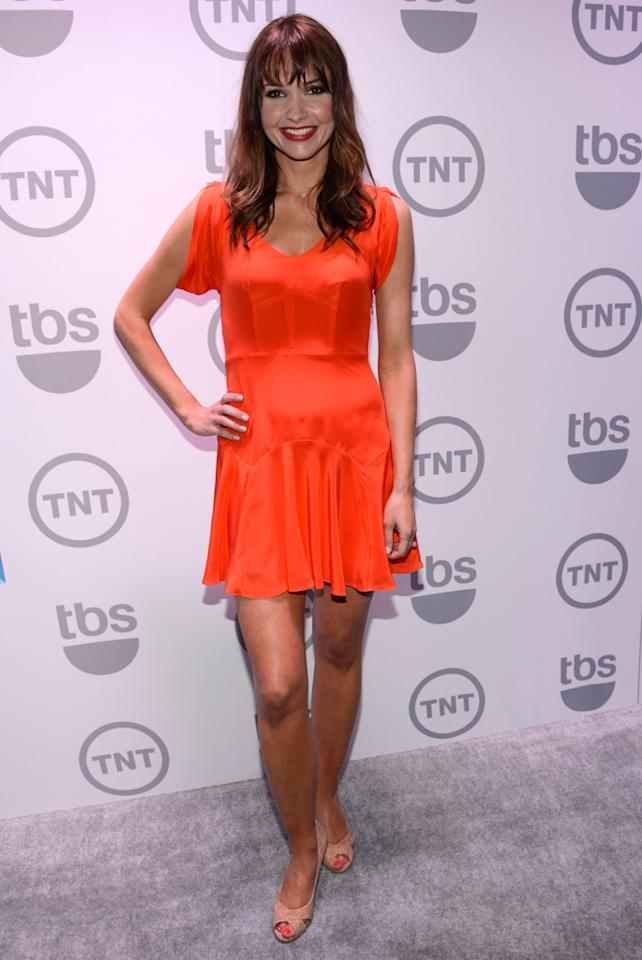 """Valerie Azlynn (""""Sullivan and Son"""") attends the TNT/TBS 2012 Upfront Presentation at Hammerstein Ballroom on May 16, 2012 in New York City."""
