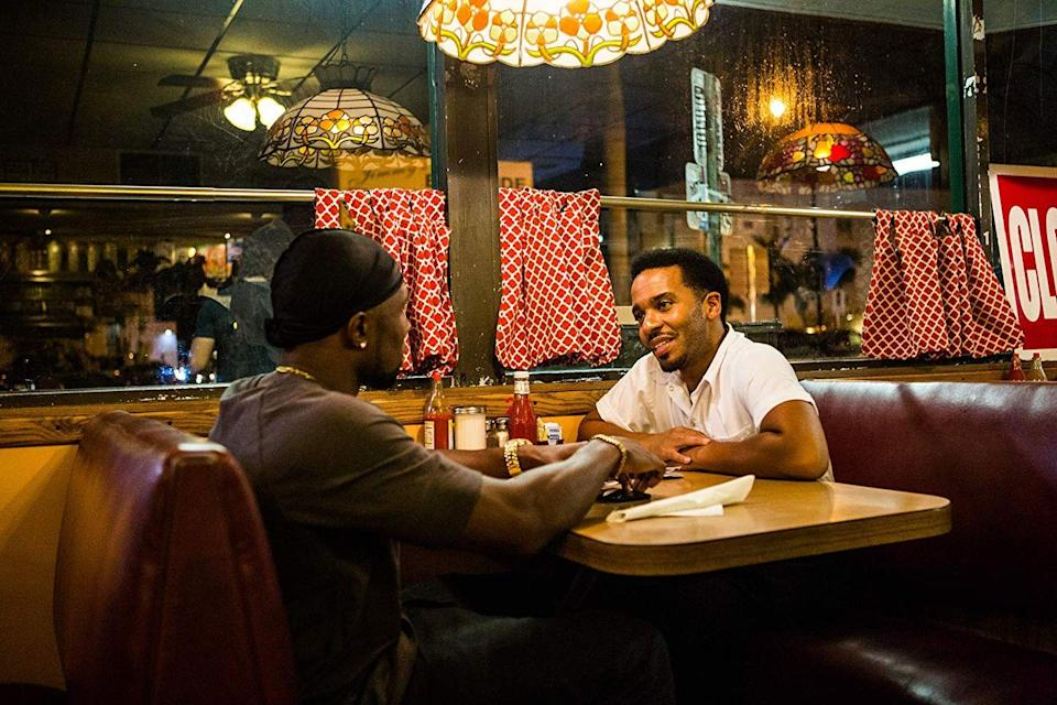 """<p>This moving film introduces us to a gay black man and son of a drug-addicted mother who deals with bullying related to his stature, his sexuality, and his place in the world. With the help of a drug dealer who becomes his mentor, he starts to find his way. </p><p><a class=""""link rapid-noclick-resp"""" href=""""https://www.netflix.com/title/80121348"""" rel=""""nofollow noopener"""" target=""""_blank"""" data-ylk=""""slk:STREAM NOW"""">STREAM NOW</a></p>"""