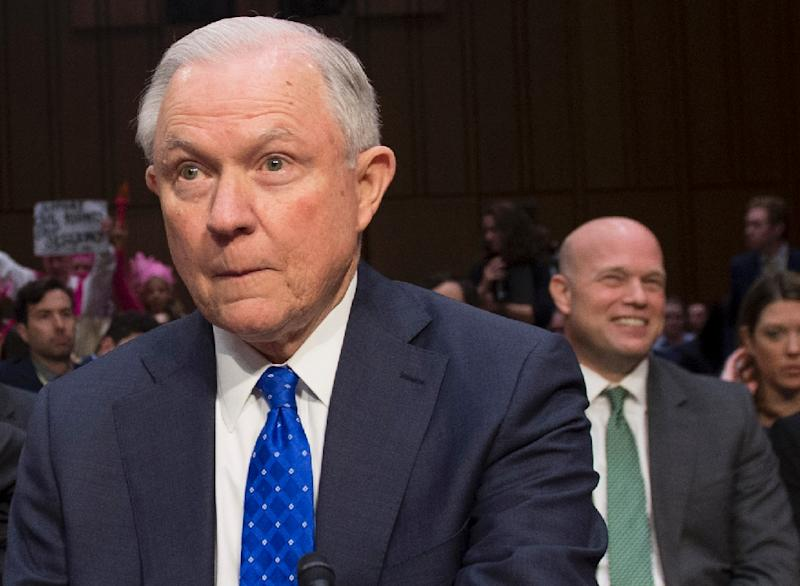 Jeff Sessions, who served as Trump's first attorney general, met Russia's ambassador to the United States three times during the 2016 campaign