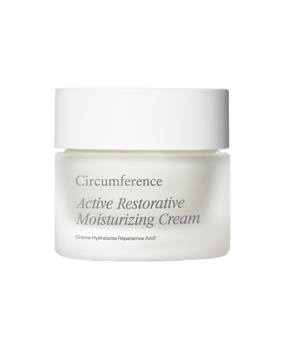 """$120, Circumference. <a href=""""https://www.circumferencenyc.com/collections/shop-skincare/products/active-restorative-moisturizing-cream"""" rel=""""nofollow noopener"""" target=""""_blank"""" data-ylk=""""slk:Get it now!"""" class=""""link rapid-noclick-resp"""">Get it now!</a>"""