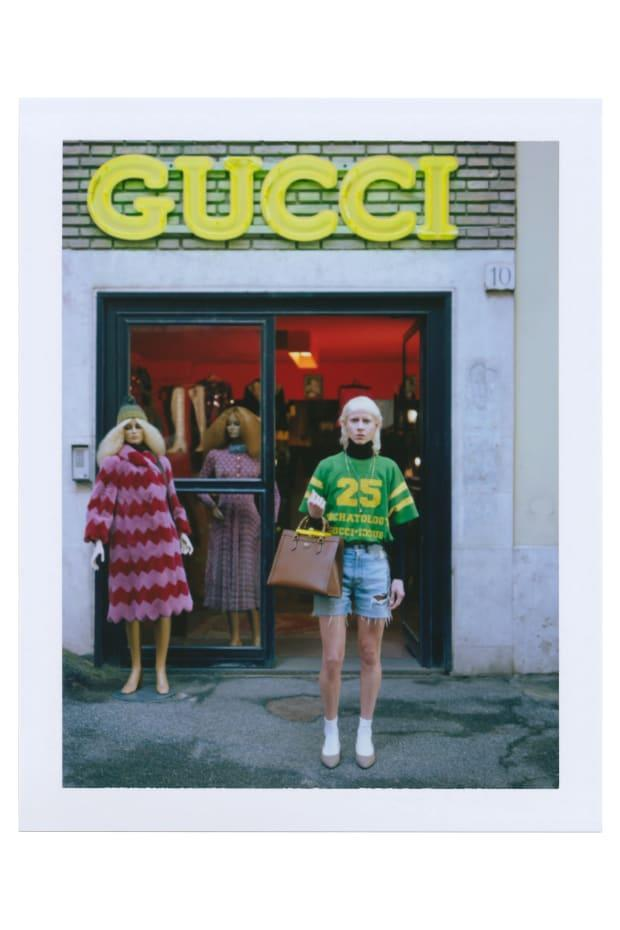 """<p>A look from Gucci's """"Ouverture of Something That Never Ended: Episode 6."""" Photo: Gus Van Sant/Courtesy of Gucci</p>"""