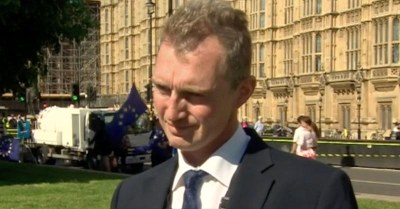Mr Davies is a Leave supporter who voted for Theresa May's Brexit deal (BBC Wales)