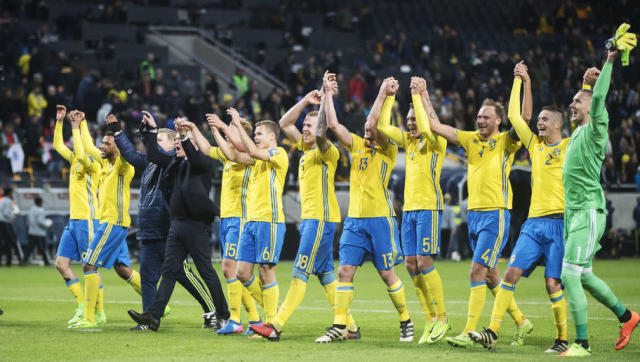 <p><strong>Highest FIFA Ranking:</strong> 2nd (November 1994)</p> <p><strong>Current FIFA Ranking:</strong> 34th</p> <br><p>Zlatan Ibrahimovic was unfortunate that he arrived on the scene just too late to be part of a Golden Generation of Swedish players. The country finished third at the 1994 World Cup and later made it through the group stage at three consecutive tournaments at global and European level between 2002 and 2006.</p> <br><p>Ibrahimovic was eventually left to carry an average side on his own, though. Sweden haven't qualified for either of the last two World Cups and not a lot was expected of them at Euro 2016 when they were met with a third straight group stage exit.</p>