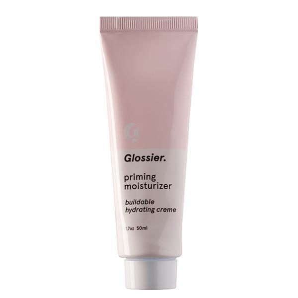 """<p>It seems like everyone on the Glossier team is an expert at no-makeup makeup selfies, so of course they developed the perfect primer-moisturizer that plumps up your skin, reduces redness, and blurs without any heavy ingredients. It can be worn alone or under makeup. <a href=""""https://www.glossier.com/#!/products/priming-moisturizer"""" rel=""""nofollow noopener"""" target=""""_blank"""" data-ylk=""""slk:Glossier Priming Moisturizer"""" class=""""link rapid-noclick-resp"""">Glossier Priming Moisturizer</a> ($25)</p><p><i>(Photo: Glossier)</i></p>"""