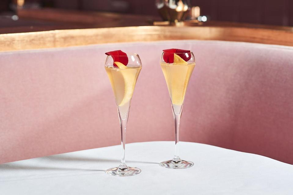 """<p>It's one of the most Instagrammable venues in London with their iconic egg toilets, plush pink sofas and green 'The Glade' forest-themed room. But the extensive cocktail menu is another reason to head to the must-visit spot.</p><p>Find <a href=""""https://sketch.london/"""" rel=""""nofollow noopener"""" target=""""_blank"""" data-ylk=""""slk:Sketch"""" class=""""link rapid-noclick-resp"""">Sketch</a> at 9 Conduit St, Mayfair, London W1S 2XG.</p>"""