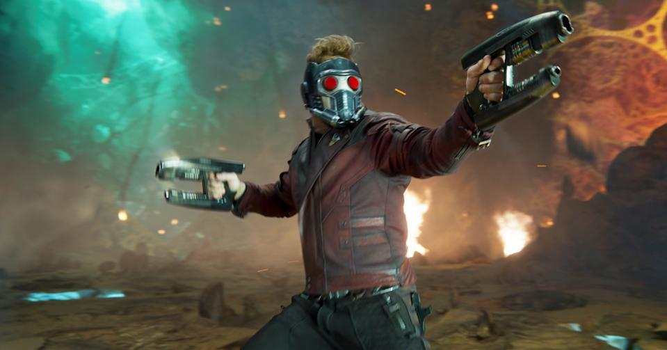 Chris Pratt's Star-Lord/Peter Quill is ready for action (credit: Marvel Studios)