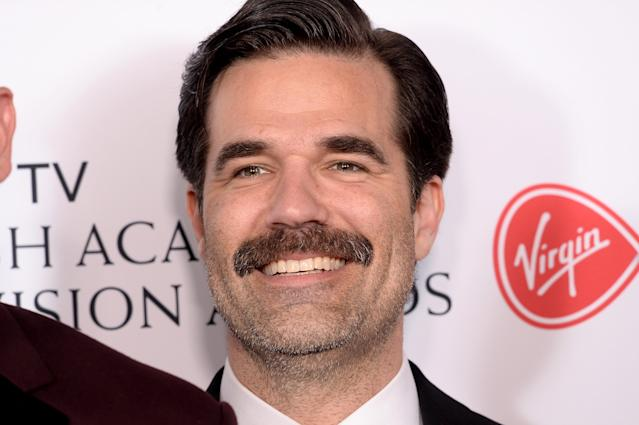 Rob Delaney used Makaton when he read the CBeebies bed time story last week [Photo: Getty]