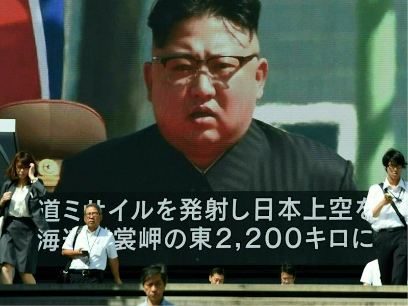 Most Americans beleive North Korea and its leader Kim Jong-Un is the greatest threat (TORU YAMANAKA/AFP/Getty Images)