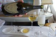 <p>And there, of course, much more champagne.</p><p><i>(Photo: Sam Huang)</i></p>