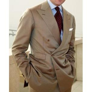 Go for either a two-button or three-button model for the jacket. Otherwise, ask for a double-breasted jacket, or doppio petto as the Italians call them