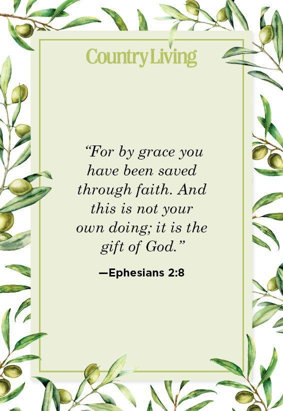 """<p>""""For by grace you have been saved through faith. And this is not your own doing; it is the gift of God.""""</p>"""
