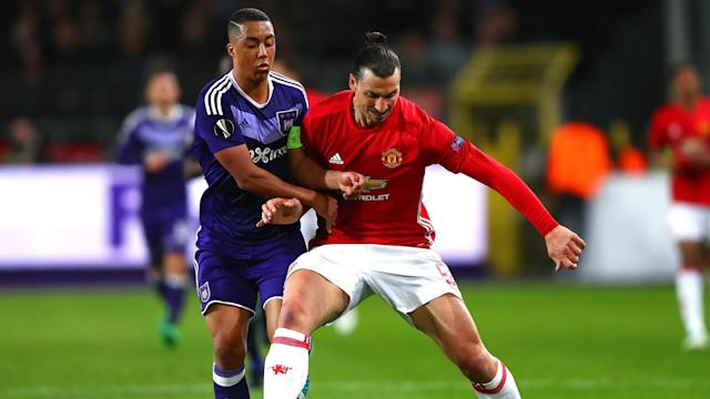 Youri Tielemans has responded to rumours that he was scouted by Inter during Anderlecht's draw with Manchester United.