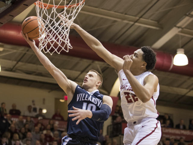 After starring at Villanova, Donte DiVincenzo's draft stock is on the rise. (AP)