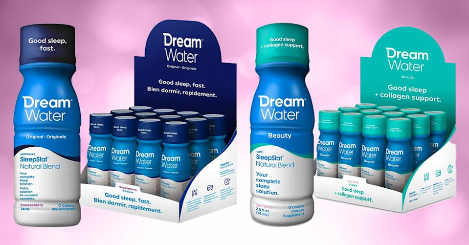 Dream Water sleep aids are all natural and on sale. (Photo: Amazon)