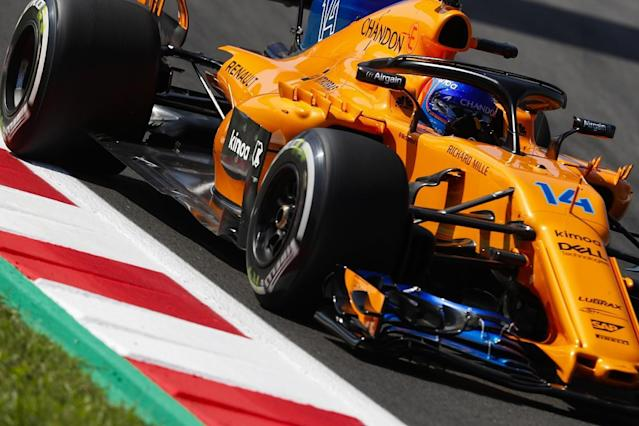 "Fernando Alonso says the upgrades brought by McLaren for the Spanish Grand Prix have made its Formula 1 car ""much better"""